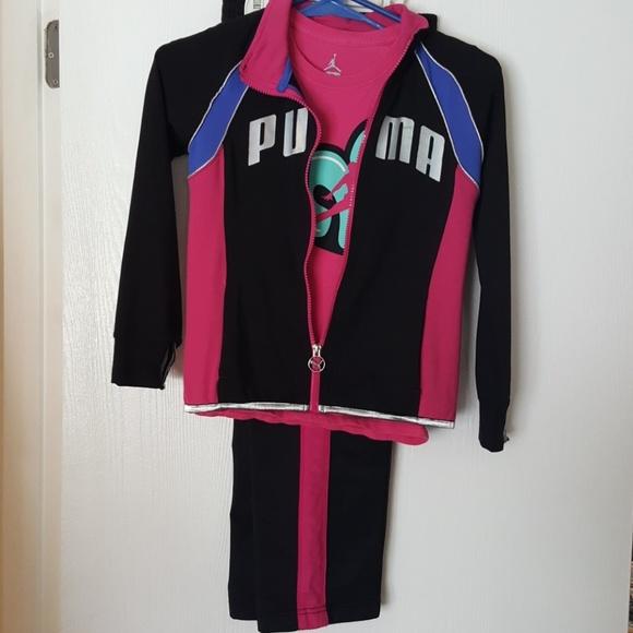 eb7b102ad7fe Air Jordan Other - Girls Air Jordan   Puma warm-up outfit